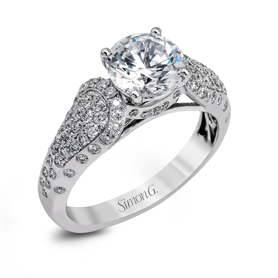 Simon G - DR332, Engagement Ring, Simon G - Birmingham Jewelry