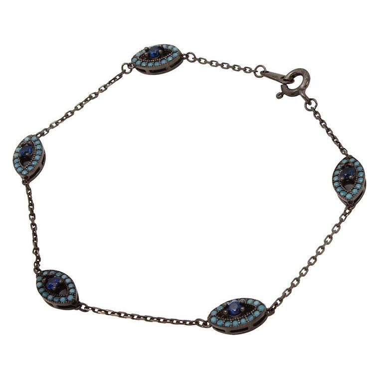 Multiple Evil Eye Bracelet