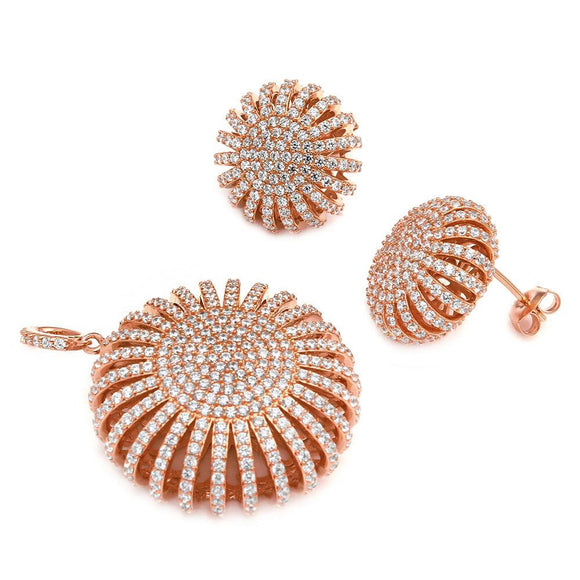 Multi Pave Round Set