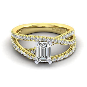 Gabriel & Co. Gabriel & Co. - ER10204W44JJ Engagement Ring - Birmingham Jewelry