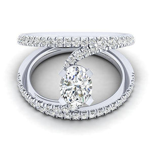 Gabriel & Co. Gabriel & Co. - ER12416R4W44JJ Engagement Ring - Birmingham Jewelry