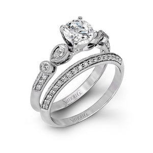 Simon G Simon G - LP1145 Engagement Ring Set - Birmingham Jewelry