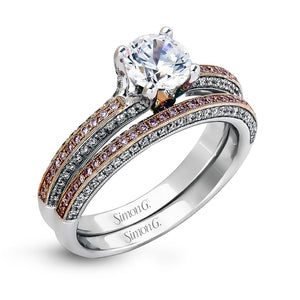 Simon G - LP1846, Engagement Ring Set, Simon G - Birmingham Jewelry