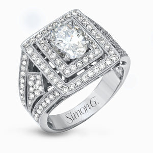 Simon G Simon G - LP1864 Engagement Ring - Birmingham Jewelry