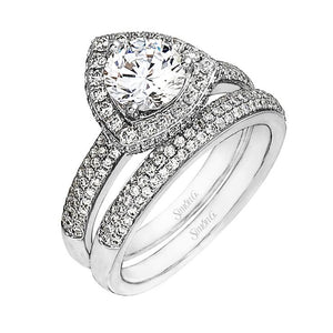 Simon G Simon G - LP2074 Engagement Ring Set - Birmingham Jewelry