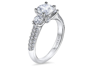 Scott Kay - SK7896 -  Crown Setting (1.00ct), Engagement Ring, SCOTT KAY - Birmingham Jewelry