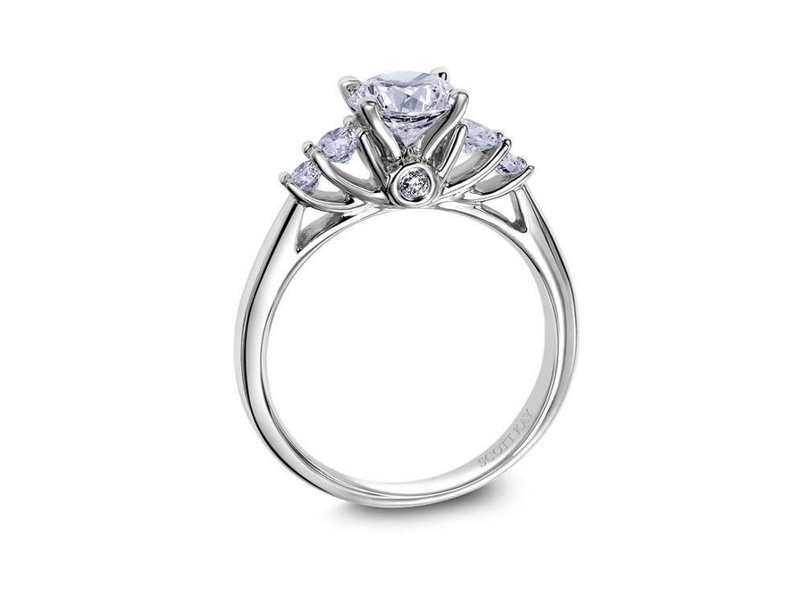 Scott Kay - SK8072 - Crown Setting, Engagement Ring, SCOTT KAY - Birmingham Jewelry