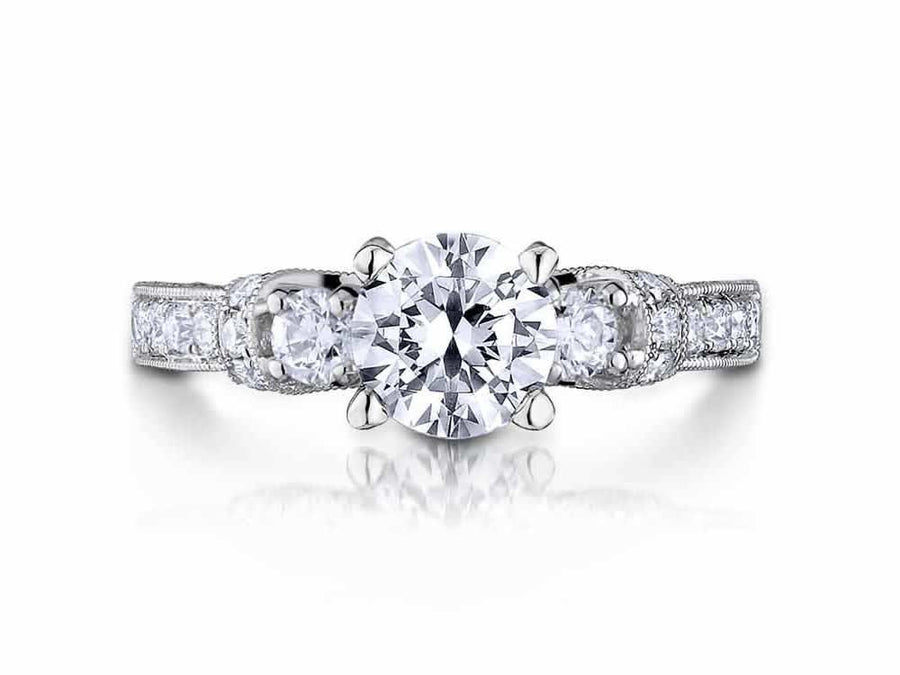Scott Kay - SK8066 - Crown Setting (0.82ct), Engagement Ring, SCOTT KAY - Birmingham Jewelry