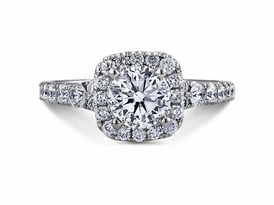 SCOTT KAY Scott Kay - SK6734 - Luminaire (1.00ct) Engagement Ring - Birmingham Jewelry