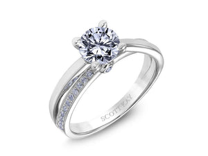 SCOTT KAY Scott Kay - SK6742 - Luminaire Engagement Ring - Birmingham Jewelry