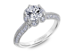 Scott Kay - SK6026 - Luminaire, Engagement Ring, SCOTT KAY - Birmingham Jewelry