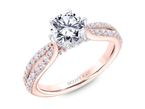 SCOTT KAY Scott Kay - SK6032 - Luminaire Engagement Ring - Birmingham Jewelry