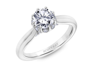 SCOTT KAY Scott Kay - SK6033 - Luminaire Engagement Ring - Birmingham Jewelry
