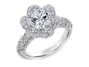 SCOTT KAY Scott Kay - SK6022 - Heaven's Gates Engagement Ring - Birmingham Jewelry