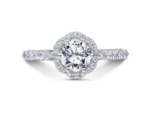 SCOTT KAY Scott Kay - SK6016 - Heaven's Gates Engagement Ring - Birmingham Jewelry