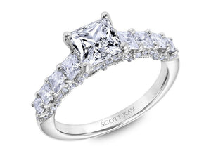 SCOTT KAY Scott Kay - SK6017 - Heaven's Gates Engagement Ring - Birmingham Jewelry