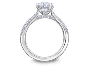 SCOTT KAY Scott Kay - SK6031 - Luminaire Engagement Ring - Birmingham Jewelry