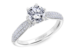 Scott Kay - SK6031 - Luminaire, Engagement Ring, SCOTT KAY - Birmingham Jewelry