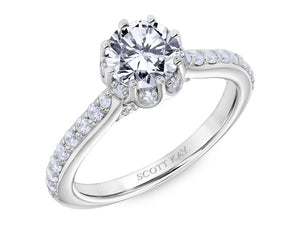 SCOTT KAY Scott Kay - SK6039 - Luminaire Engagement Ring - Birmingham Jewelry