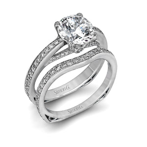 Simon G Simon G - MR1552 Engagement Ring Set - Birmingham Jewelry