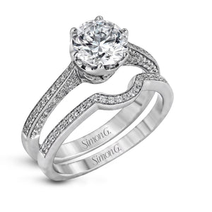 Simon G Simon G - MR1675 Engagement Ring Set - Birmingham Jewelry