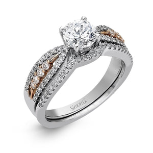 Simon G Simon G - MR2321 Engagement Ring Set - Birmingham Jewelry