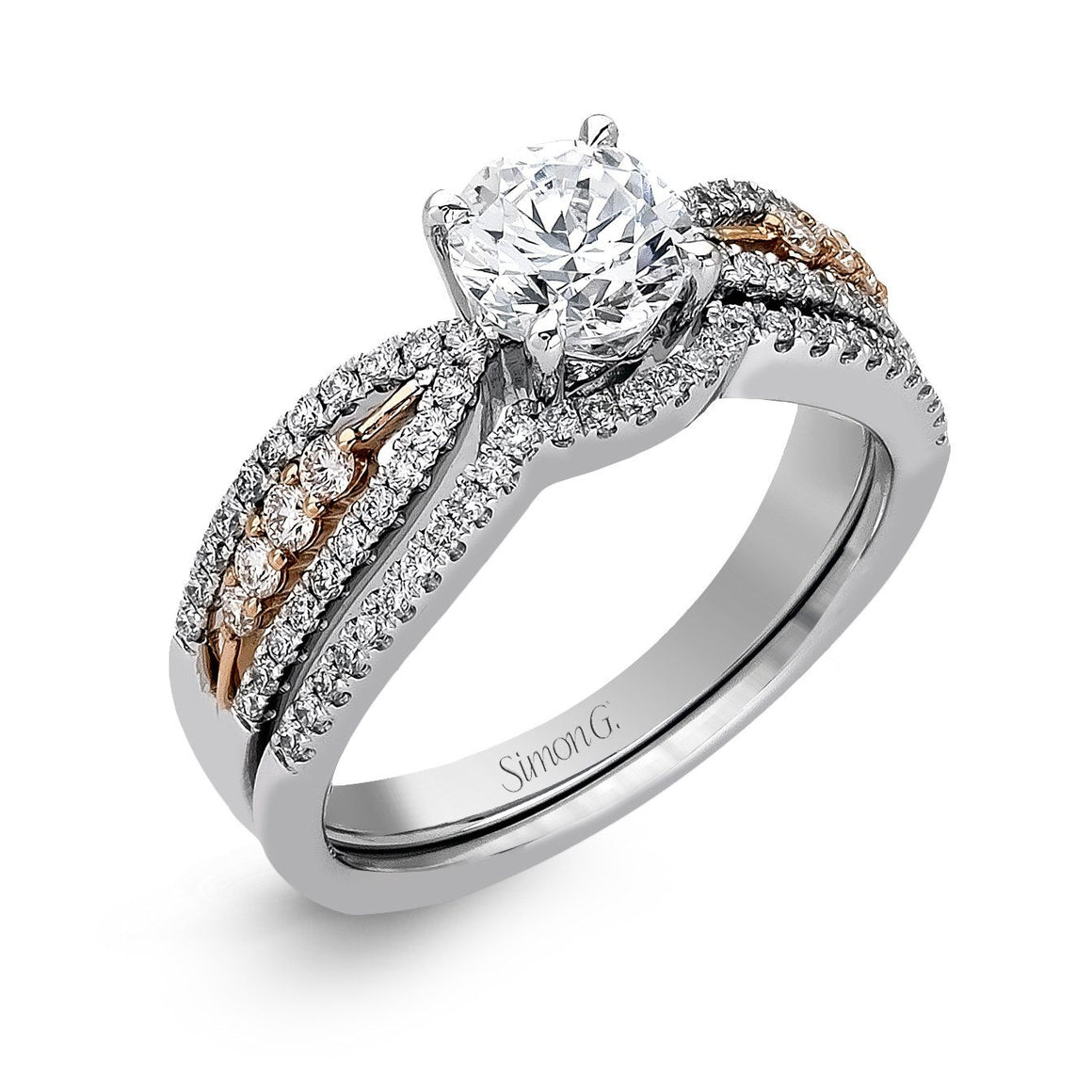 Simon G - MR2321, Engagement Ring Set, Simon G - Birmingham Jewelry