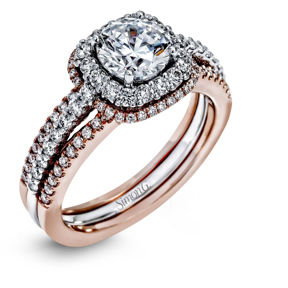 Simon G - MR2474, Engagement Ring Set, Simon G - Birmingham Jewelry
