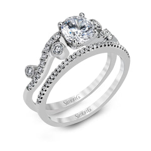 Simon G Simon G - MR2519 Engagement Ring Set - Birmingham Jewelry