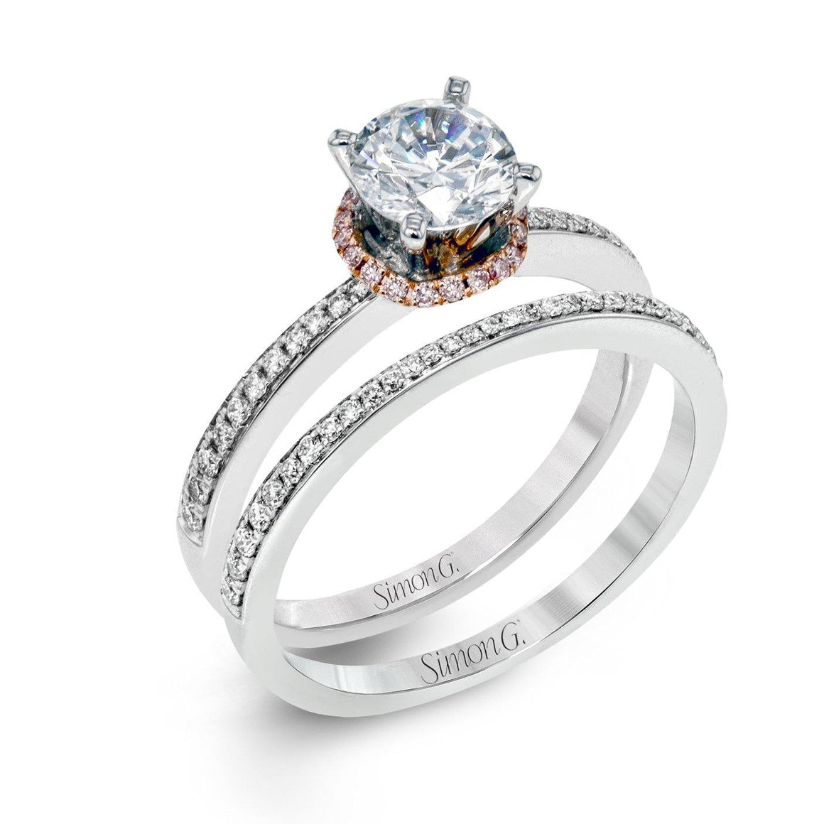 Simon G - MR2530, Engagement Ring Set, Simon G - Birmingham Jewelry
