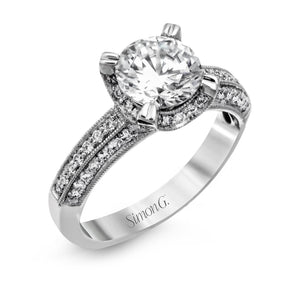 Simon G - NR155 Engagement Ring - Birmingham Jewelry