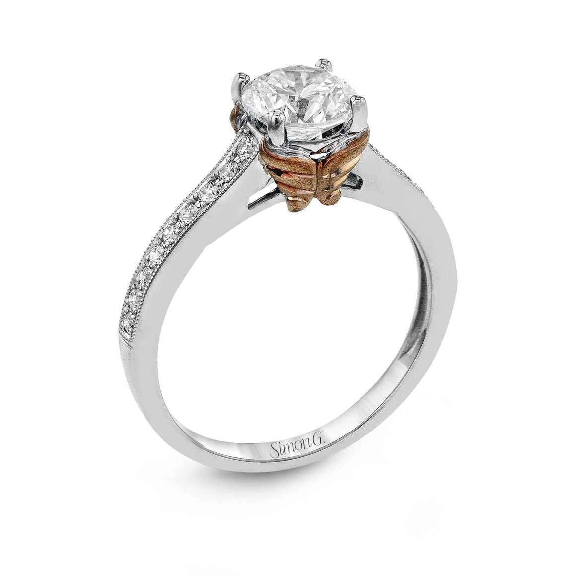 Simon G Simon G - NR493 Engagement Ring - Birmingham Jewelry
