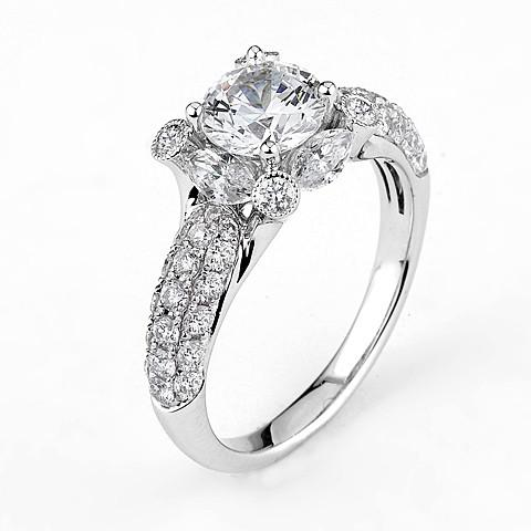 Supreme Jewelry Supreme - SJU1281RS Engagement Ring - Birmingham Jewelry