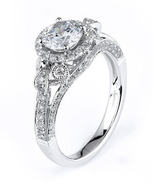 Supreme Jewelry Supreme - SJU1283RS Engagement Ring - Birmingham Jewelry
