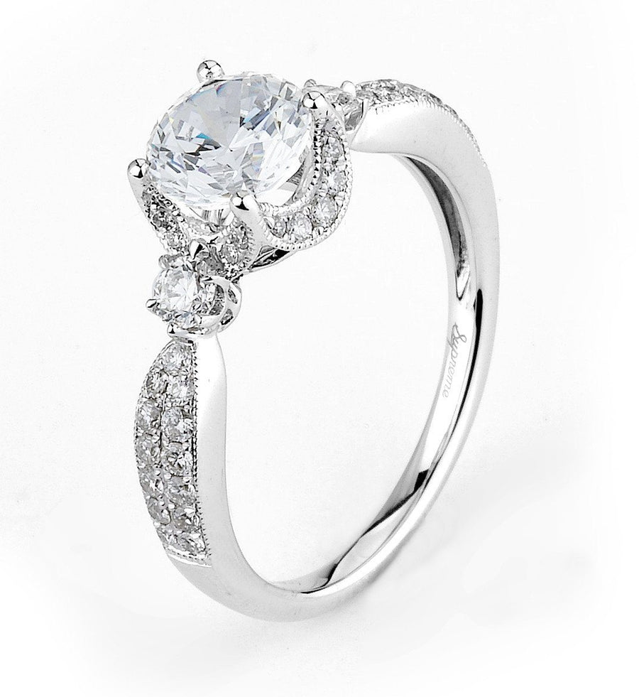 Supreme Jewelry Supreme - SJU1285RS Engagement Ring - Birmingham Jewelry