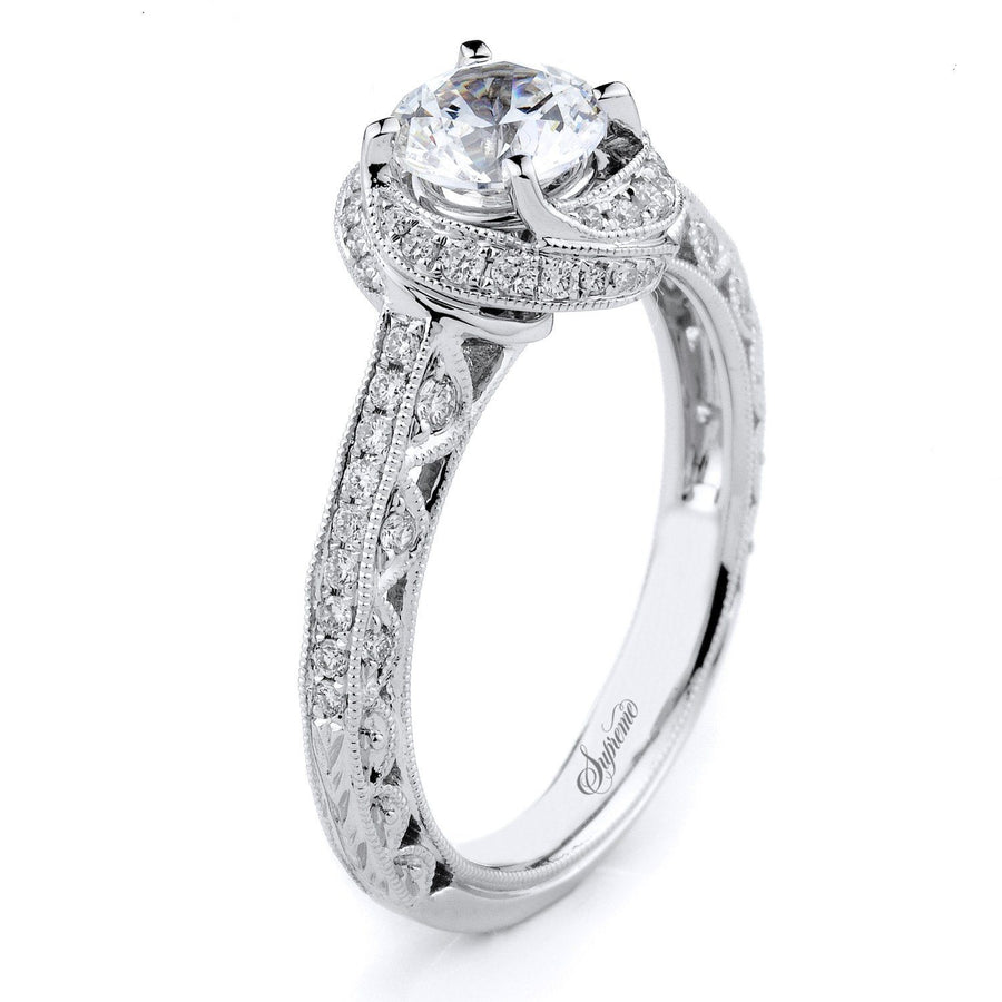 Supreme Jewelry Supreme - SJU1527RS Engagement Ring - Birmingham Jewelry