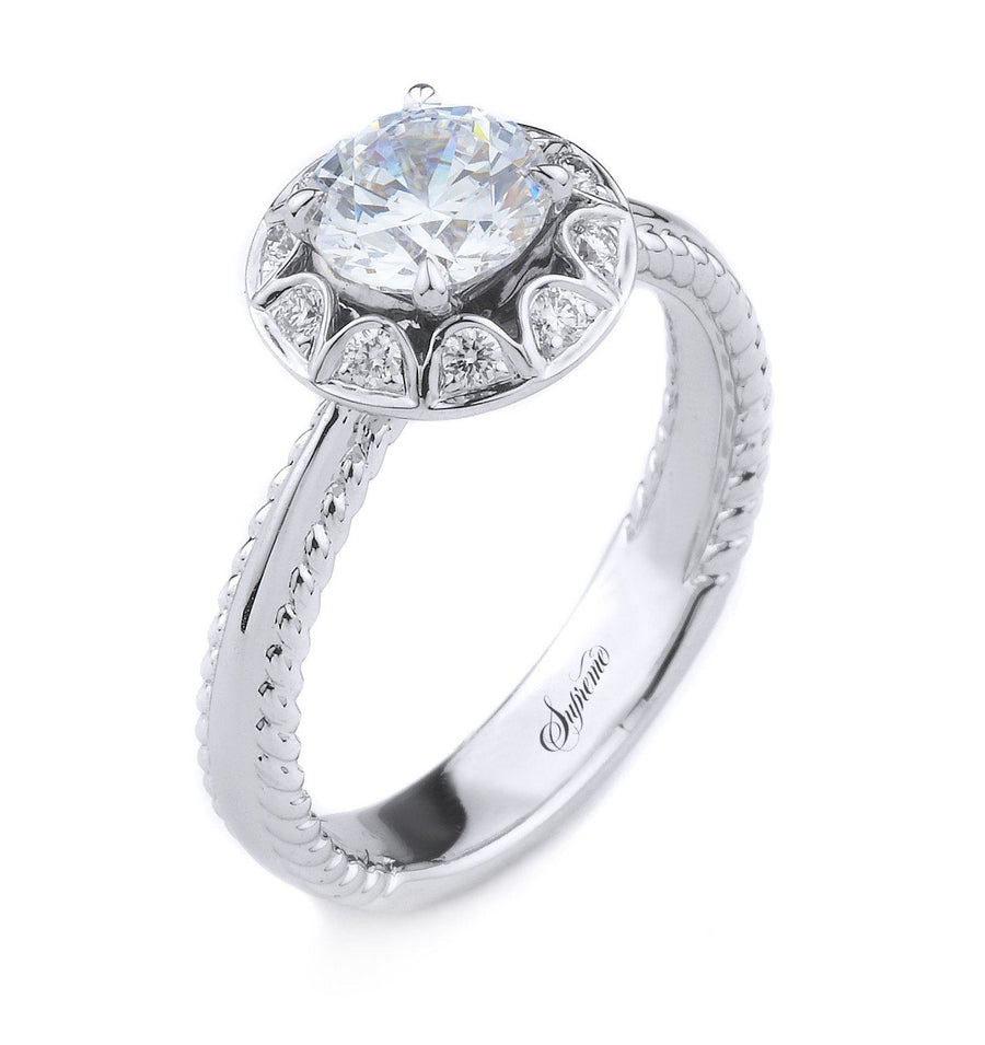 Supreme Jewelry Supreme - SJU1829RS Engagement Ring - Birmingham Jewelry