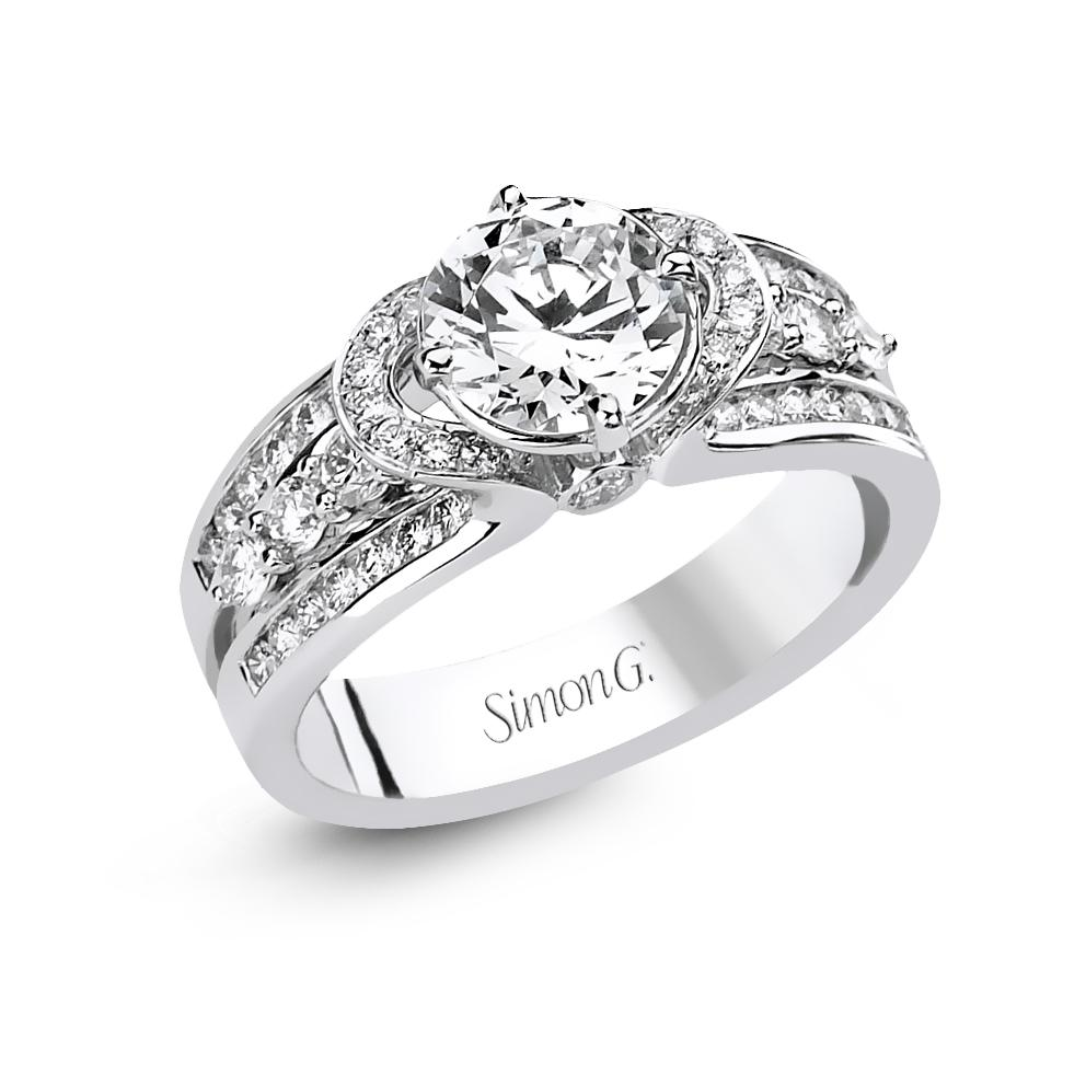 Simon G - DR160, Engagement Ring, Simon G - Birmingham Jewelry