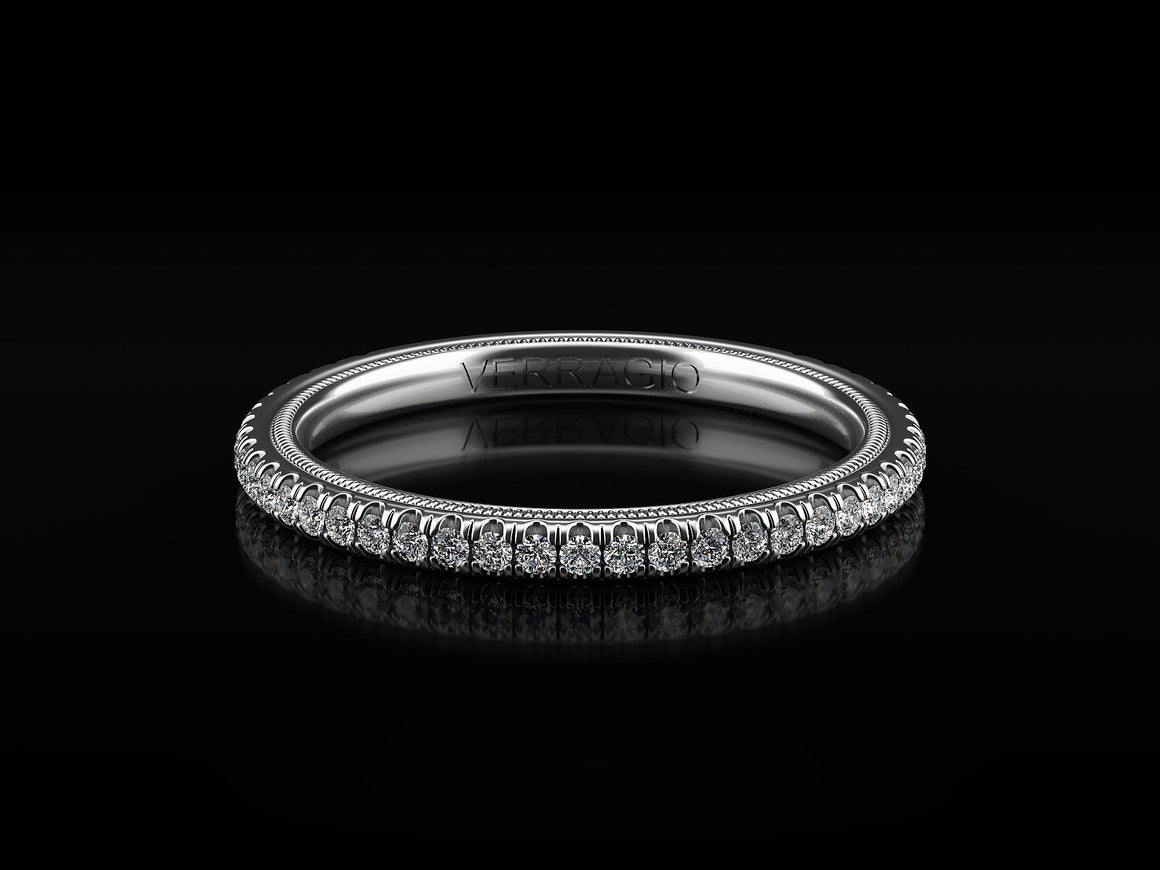 VERRAGIO TRADITION - TR120W Wedding Band - Birmingham Jewelry