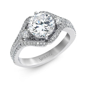 Simon G Simon G - TR154 Engagement Ring - Birmingham Jewelry