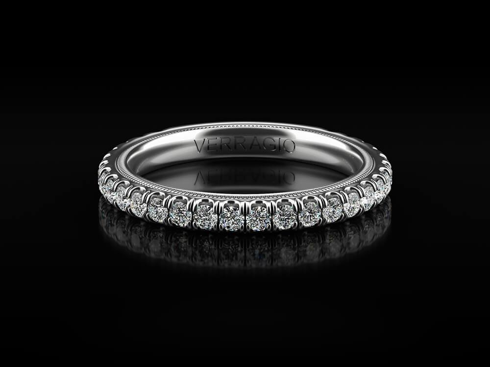 VERRAGIO TRADITION - TR180W Wedding Band - Birmingham Jewelry