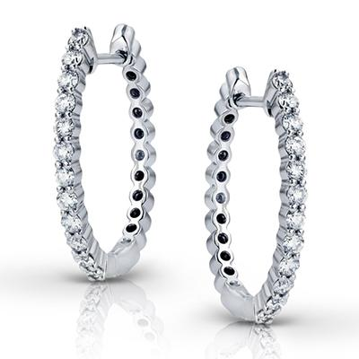ZEGHANI - ZE296 Monaco, Hoop Earrings, ZEGHANI - Birmingham Jewelry