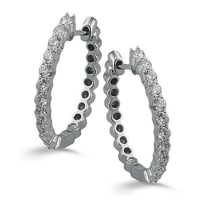 ZEGHANI - ZE297 Monaco, Hoop Earrings, ZEGHANI - Birmingham Jewelry