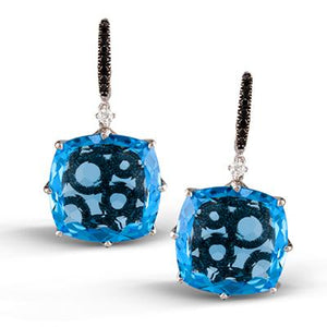 ZEGHANI ZEGHANI - ZE313 Color Earrings - Birmingham Jewelry