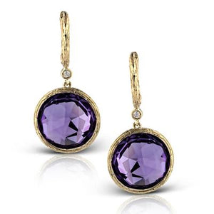 ZEGHANI ZEGHANI - ZE334 Plymouth Color Earrings - Birmingham Jewelry
