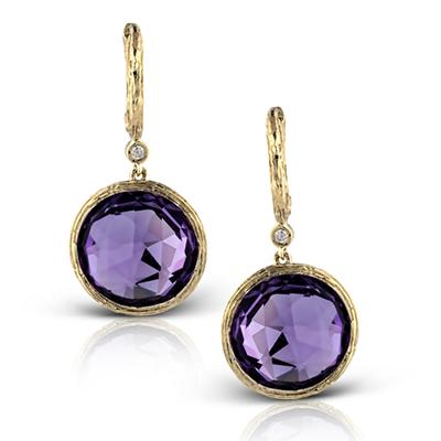 ZEGHANI - ZE334 Plymouth, Color Earrings, ZEGHANI - Birmingham Jewelry