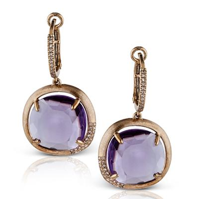ZEGHANI - ZE339, Color Earrings, ZEGHANI - Birmingham Jewelry