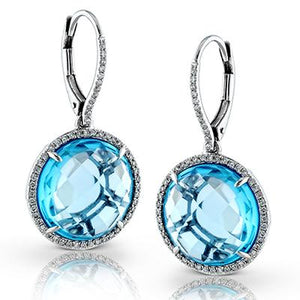 ZEGHANI ZEGHANI - ZE444 Color Earrings - Birmingham Jewelry