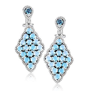 ZEGHANI ZEGHANI - ZE591 Color Earrings - Birmingham Jewelry