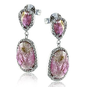 ZEGHANI - ZE650, Color Earrings, ZEGHANI - Birmingham Jewelry